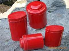Tea cans | tin products | Red Series tins | tea packing factory in Guangzhou | elaborate