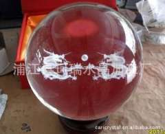 Supply | Crystal laser | Crystal Ball Carving Crafts | Professional custom crystal ball 3D Carving Dragons