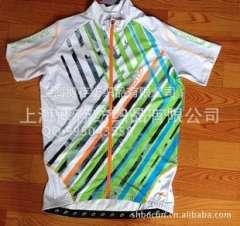 Printed jersey, jersey suits sublimation printing process