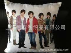Pillow cushions custom processing, high-definition digital printing process a photo effect from India
