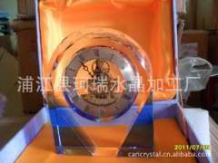 Supply | Crystal Clock | exquisite crystal clocks crafts gifts | Polaris movement Crystal Clock