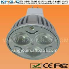 3W Dimmable LED Spotlight with MR16 Base