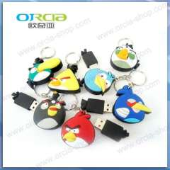 Supply Ou Qiya U disk | U disk Hot angry birds | new U disk | U disk gifts wholesale | Features U disk