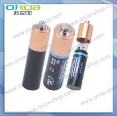 Supply battery U disk | U disk metal batteries oxidizable variety of colors, mini U disk, U-shaped battery