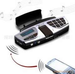 Wholesale Steering Wheel Bluetooth V2.0+EDR Adapter Car MP3 Player Wireless FM Transmitter