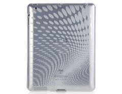 Raindrop Pattern TPU Case for The new iPad (Transparent)