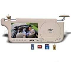 Wholesale 7 SD\USB visor auto load screen DVD player