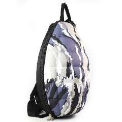 Creative New | Grenade blue and gray camouflage shoulder bag | backpack