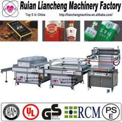 Full Automatic roll to roll screen press and automatic screen printing press