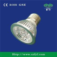 High power LED spotlight E27