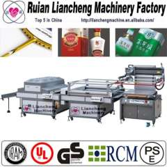 Full Automatic roll to roll screen press and flat screen printing press press
