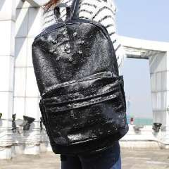 Japan and South Korea 2013 new diamond skull rivet shoulder bag cute male and female students bag retro casual pu backpack