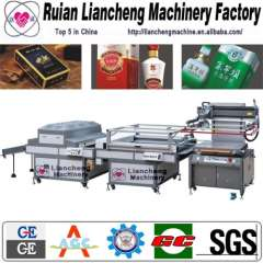 Full Automatic roll to roll screen press and t-shirt screen printing equipment