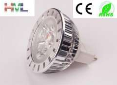 Factory directly good price mr 16 3w aluminum spotlight