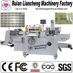 China All kinds of die cutting machines and new die cutting and creasing machine