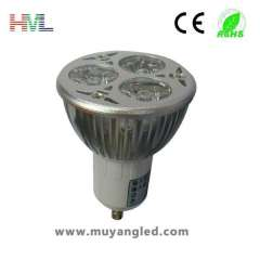 Hot Sale high power 3w gu10 led spot light
