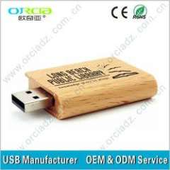1gb, 2gb, 4gb, 8gb, 16gb, 32gb logo engrave brown wooden usb flash drive OEM service promotional, usb2.0\3.0