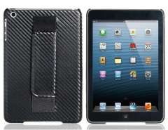 Handheld Patterned Plastic Case for iPad mini (Black)