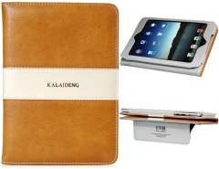 Kalaideng Faux Leather Protective Case for iPad Mini (Brown)