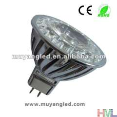 Best Price 3W MR16 Epistar SMD LED Spotlight Bulb Equivalent to 20W Traditional Lamp, New Standard Size