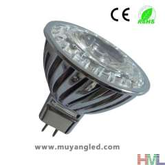High Power Outdoor LED Spotlight Bulb(Warm White, 6w, equivalent to 60W Halogen Bulb)