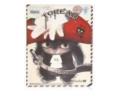 Retro Style Cat Pattern Protective Case for The new iPad
