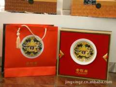 Jinjunmei upscale gift | Tea House Series | red, gold pound | Fashion gift to share