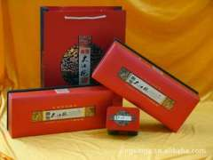 Tea Gift | Yu Kam- series | red or gold pound mounted | factory direct supply | Quality Assurance