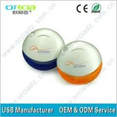 Colorful Round \ ball USB Flash Drive With Custom Logo