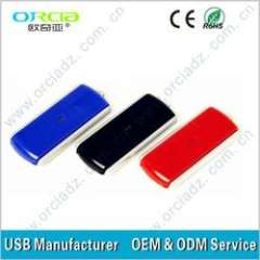 High quality plastic usb flash drive with write protection