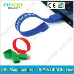 2013 promotion !! best price silicone bracelet usb with best price 8gb less than $5