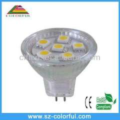 MR16 6SMD5050 led spotlight mr16