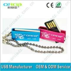 Promotion!!! 2013 shenzhen hot selling Swivel usb flash drive for you