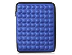 Delicate Die design Shock Proof Protective Sleeve Case for the New iPad (Blue)