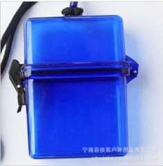 Blue outdoor waterproof box | splash box | bags | Mobile Waterproof Bag | Coin Box