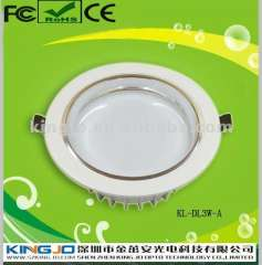 Energy saving 3W Downlight led with 3 years Warranty