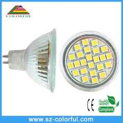 SMD mr16 4.8W china led spotlight