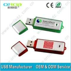 Customized Gift Plastic USB Pen Drive