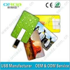 Popular Gift Credit Card usb drive 4GB