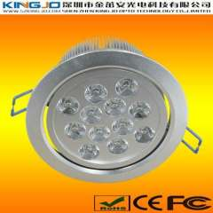 High Power 12W LED Downlights with Taiwan Chip