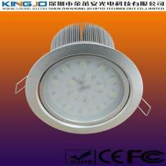 High Power 15W LED Down Light with Aluminum Housing