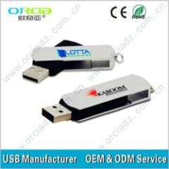 Latest Swivel USB flash memory device with good quality