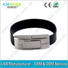 High speed bracelet usb 2.0 flash drive with competitive price on sale
