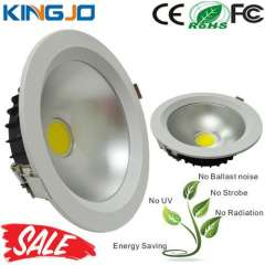 Low Light Decay Round COB 20W Led Downlight