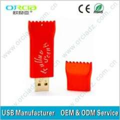 2013 on sale sugar usb promotional cute gifts logo cheapest price OEM (ORU-P020)