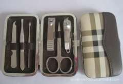 Factory outlets, six manicure sets, manicure set, stainless steel nail set, inexpensive