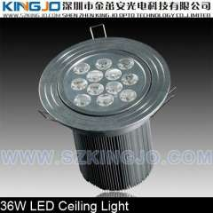 High Power 36W Downlight LED with Epistar Chip CE\ROHS\FCC