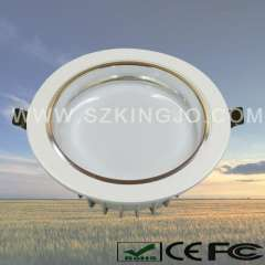 Dimmable LED Downlight with Aluminum+Acrylic