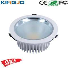 2012 Hot Selling round 30w cob led downlight