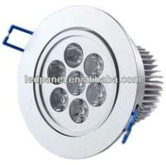 7w AC voltage good apperance led panel light